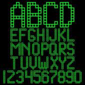 Alphabet blocks — Stockvector