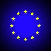 European Union. EU flag — Stock Vector