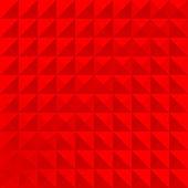 Geometrische patroon rode eenvoudig — Stockvector