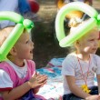 Young children enjoying a party — Stock Photo