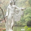 Постер, плакат: Beautiful classical garden statue