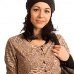 Beautiful trendy teenage girl — Stock Photo