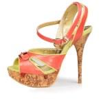 Elegant ladies open-toed sandal — Stock Photo #18652049
