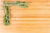Fresh rosemary sprigs — Stock Photo