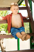 Young cute child — Stock Photo