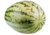 Whole fresh watermelon — Stock Photo