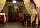 Interior of an upmarket restaurant or club — Stock Photo