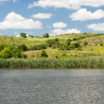 Beautiful tranquil scenic lake — Stock Photo #48517449