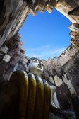 Wielki budda w świątyni srichum — Zdjęcie stockowe