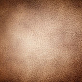 Brown leather texture as background — Stock Photo