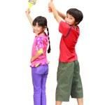 Kids painters — Stock Photo
