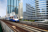 Sky train — Stock Photo