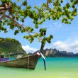 Tropical beach, Krabi, Thailand — Stock Photo
