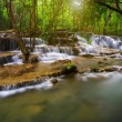 Thailand waterfall in Kanjanaburi — Stock Photo