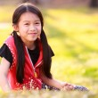 Young asian girl — Stock Photo