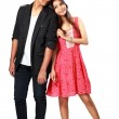 Happy young asian couple — Stock Photo #43740995