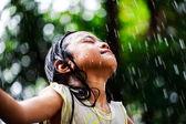 Sumer rain — Stock Photo