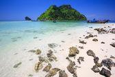 Separated Sea (Thale Waek) — Stock Photo