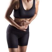 Dor de estômago — Fotografia Stock