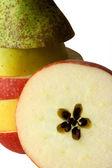 Fruit. Autumn. Harvesting. Discounts. — Stock Photo
