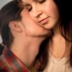 Romantic tender moment — Stock Photo