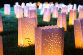 Kerzen der hoffnung — Stockfoto