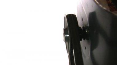 Electric motor rotating — Stock Video
