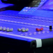 Stage sound control — Stock Video