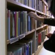 In the public library — Stock Video