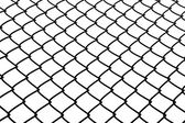 Wire rhomb net background — Stock Photo