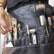 Tools of a makeup artist - Stock Photo