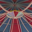 Royalty-Free Stock Photo: Roof of a fairground carousel