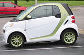 Smart FourTwo Electric Car — Stock Photo