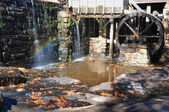 Mill Pond Rainbow — Stock Photo