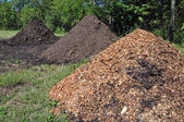 Mulch and Manure — Stock Photo