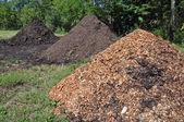 Mulch and Manure — Stock Photo