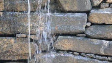 Stone Dam — Stock Video