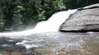 Triple Falls Waterfall — Stock Video