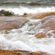 Stock Photo: Turbulent sea