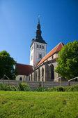 St. Nicholas church in Tallinn, Estonia — Stock Photo