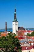 Church St. Olaf in Tallinn, Estonia — Stock Photo