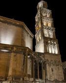 Tower of Cathedral of St. Domnius in Split, Croatia — Stock Photo