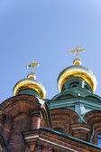 Uspenski Cathedral in Helsinki, Finland — Stock Photo