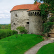 Stock Photo: Towers of Fat Margaret in Tallinn