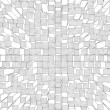 Abstract background of cubes and squares — Stock fotografie