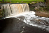 Small waterfall on a river in Estonia — Stock Photo