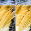Motions of waterfall — Stock Photo