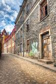 废弃建筑在塔林,爱沙尼亚 — 图库照片