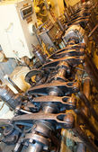 Submarine ship engine — Stock Photo