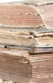 Isolated old books — Stock Photo